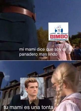 Meme de los juegos del hambre y la película Matilda.
