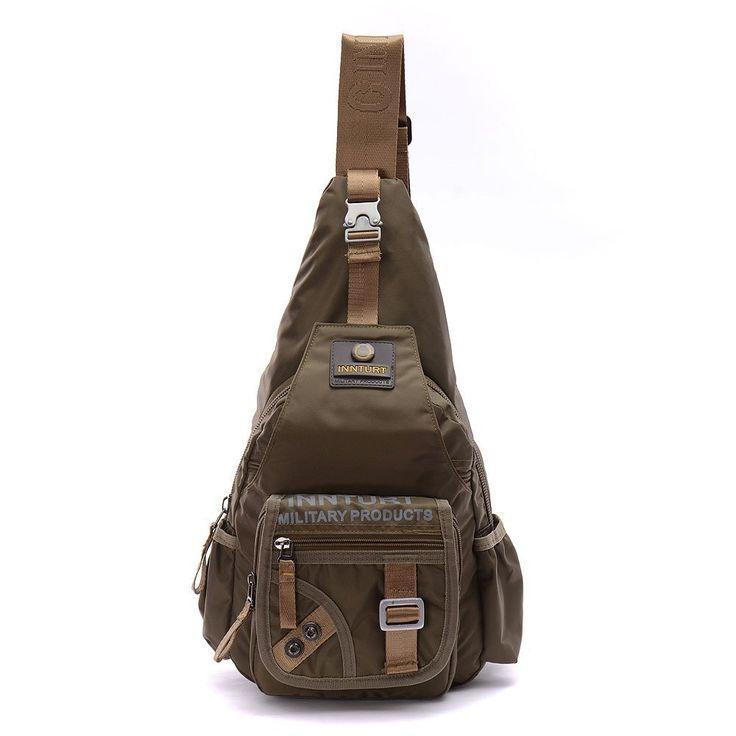 Sling Bag, LINSHI TASKS Mens Outdoor Military Shoulder Sling Backpack Chest bag