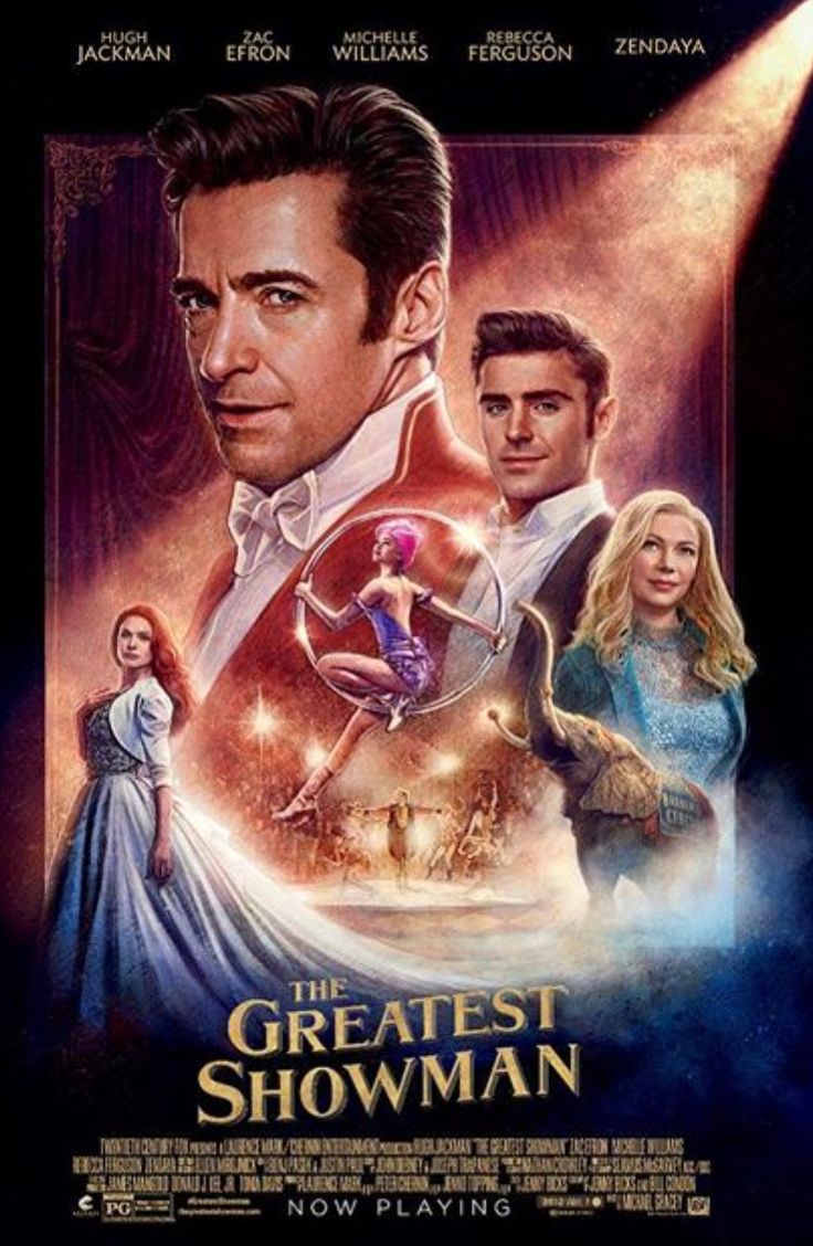The Greatest Showman poster, I really can't wait to see this film!!!