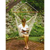 Found it at Wayfair Australia - Hanging Cotton Rope Hammock Chair