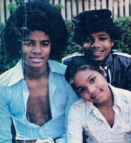 Michael, Janet, and Randy Jackson.