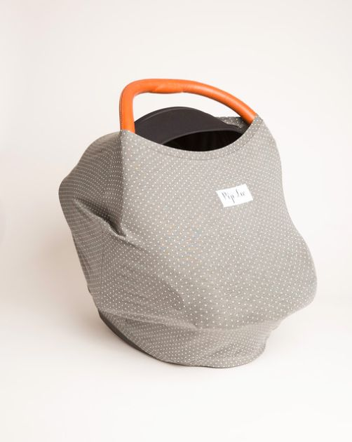 Garibaldi Grey Dots made from buttery soft sustainable organic cotton.