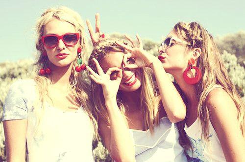 Friends: Picture, Girls, Best Friends, Bestfriends, Bff, Friendship, Summer, Fun, Photography