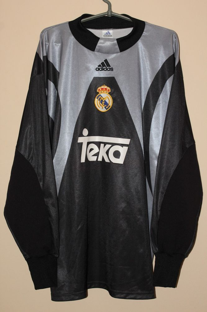 c6acbeccb Real Madrid 1999 2000 long sleeve goalkeeper adidas shirt jersey size XL  (eBay Link)