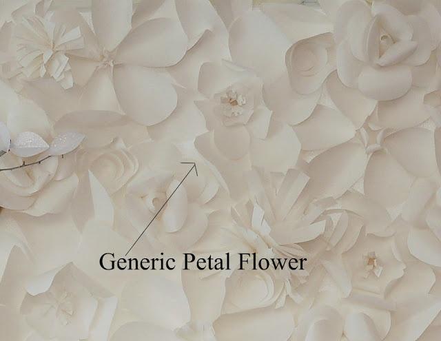 Come fare uno sfondo di fiori di carta. Tutorial in 3 parti con spiegazione per realizare i singoli fiori