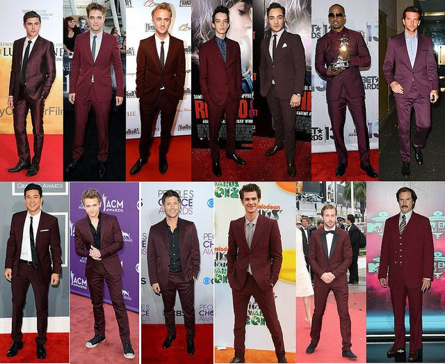 how to style burgundy suit, what shirt to wear with burgundy suit, burgundy suit, mens burgundy pants, men's burgundy blazer, how to wear burgundy suit