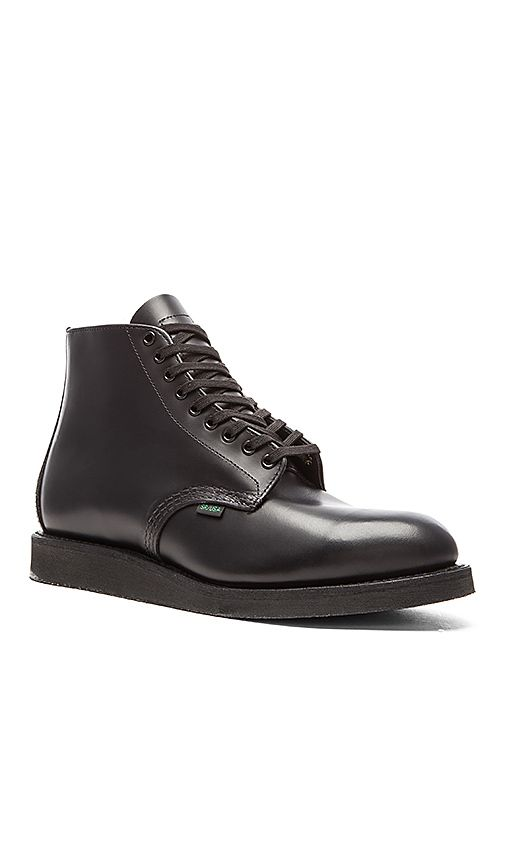 """Shop for Red Wing Shoes 6"""" Postman Boot in Black Chaparral at REVOLVE. Free 2-3 day shipping and returns, 30 day price match guarantee."""