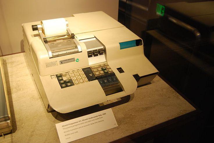 "Olivetti Programma 101, the first ""Desktop Computer"""