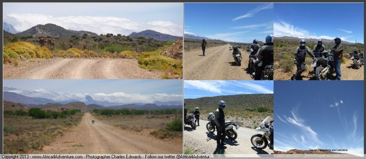 More wide open blue sky Karoo experiences on   #Adventure #Motorcycles