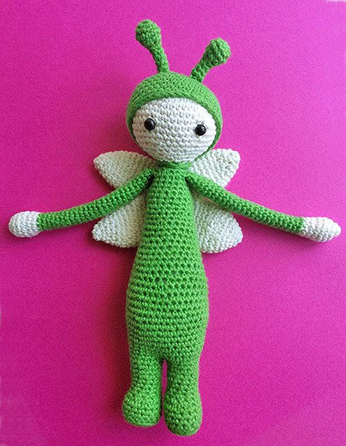 crochet spring elf