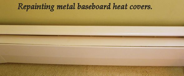 Painting Baseboard Heat Covers If You Can T Replace Them