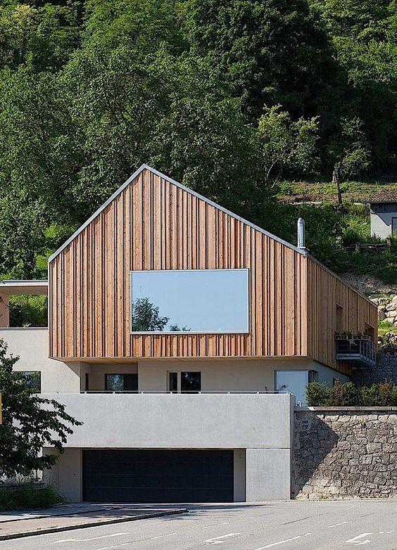 Architektur: Ein modernes Beton-Wohnhaus an der Donau