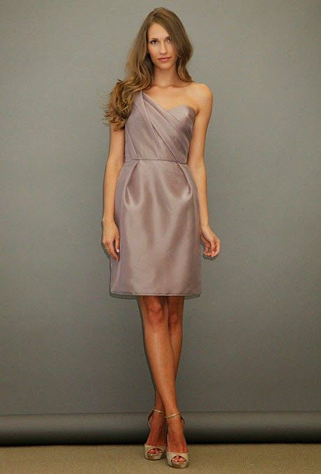 One shoulder bridesmaid dress style 06   #bridesmaiddresses