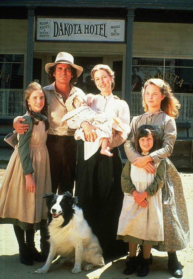 Le cast de la petite maison dans la prairie, AVANT/APRES., Melissa GILBERT, Michael LANDON, Karen GRASSLE, Melissa SUE ANDERSON, Lindsay GREEN BUSH et Bandy.
