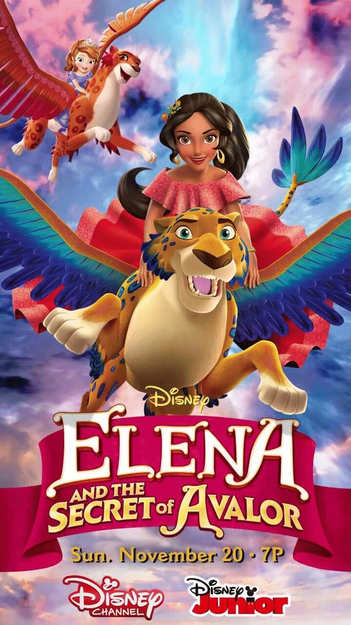 Elena and the Secret of Avalor!premiere Sunday 20th on Disney channel