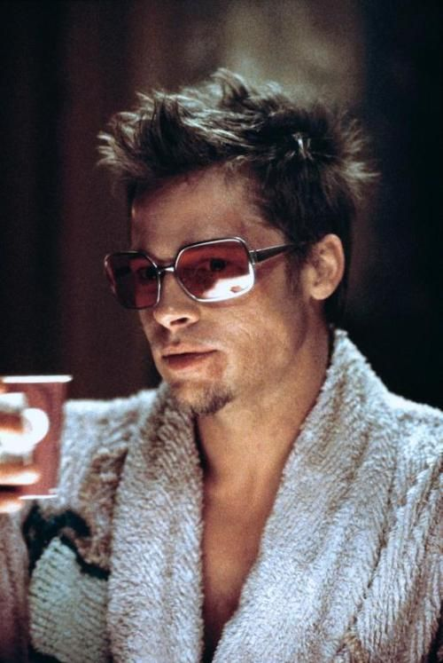 Brad Pitt in Fight Club  #sunglasses