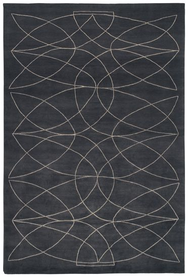 'Akana DGR' rug. Hand knotted. Made in Nepal.  www.rugs.kristiinalassus.com