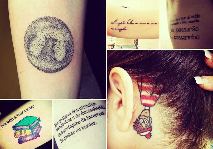 25 ideias de tatuagens literárias para demonstrar toda sua paixão por livros