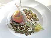 Matjes, Backapfel und Linsenvinaigrette (Rezept mit Bild) | Chefkoch.de