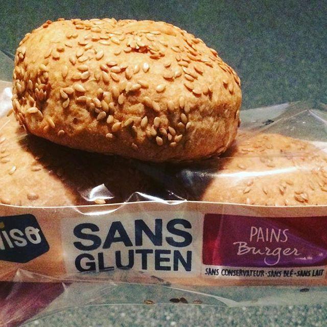 🍔 #pain burger au sésame #sansglutensanslait #glutenfree #dairyfree #wiso 🍔 #yummy #pornfood #miamiam 👍🏻