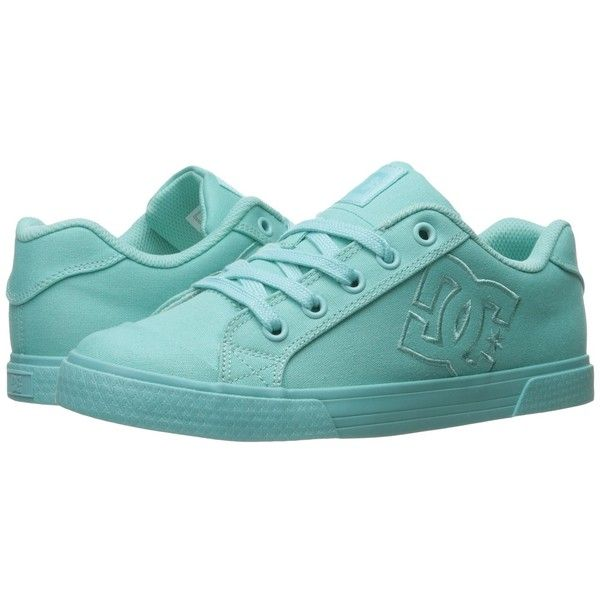 DC Chelsea TX W (Aqua) Women's Lace up casual Shoes ($40) ❤ liked on Polyvore featuring shoes, aqua shoes, print shoes, eyelets shoes, aqua blue shoes and laced up shoes