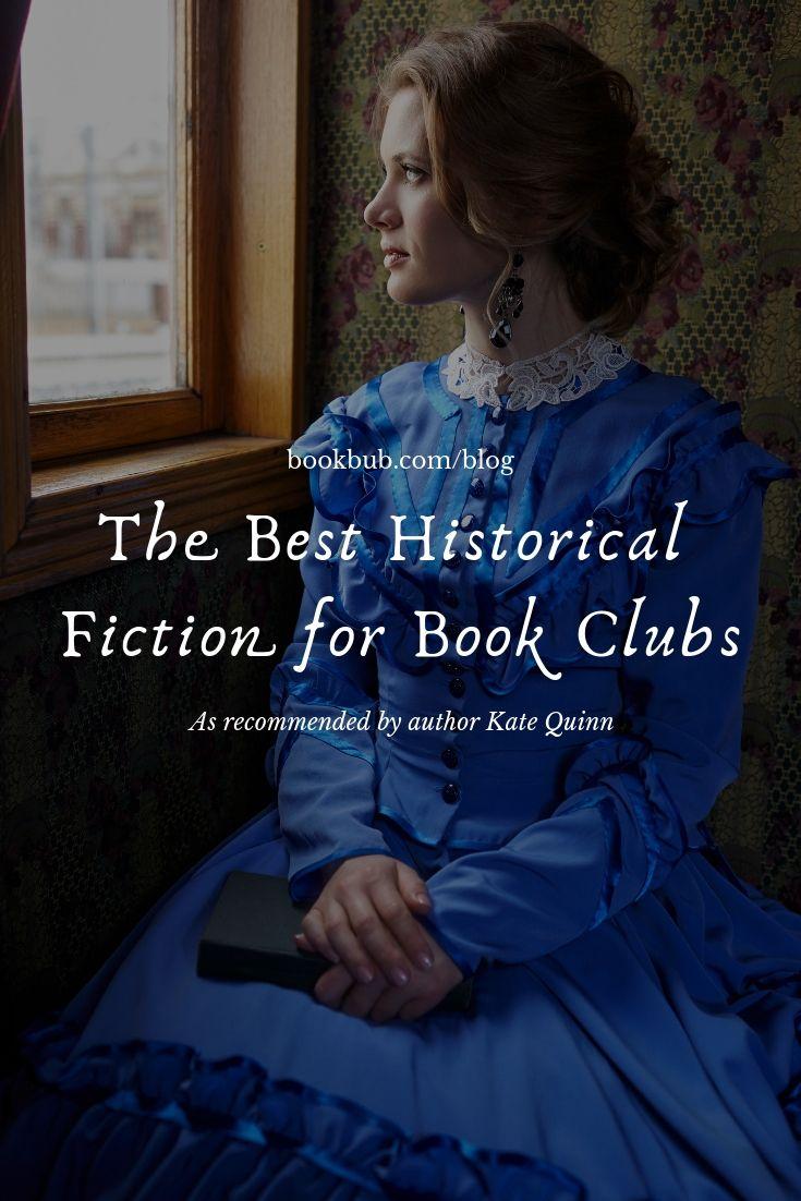 L'auteur de 'The Alice Network' partage la meilleure fiction historique pour les clubs de lecture   – Book Recommendations from Those We Admire