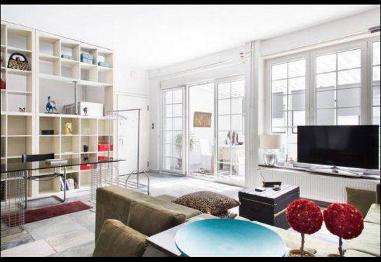 Living room of Eva's Atrium Garden Suite. Kolonaki, Athens - Greece https://www.airbnb.gr/rooms/9341776