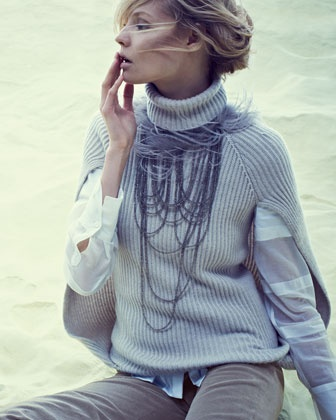 Brunello Cucinelli has me thrilled to layer!