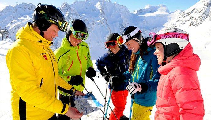 Sölden med guide! skiing Snow winter STS Alpresor puder skidresa Alperna
