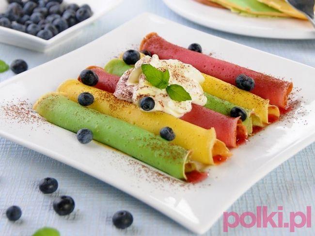 Naleśniki kolorowe #polkipl