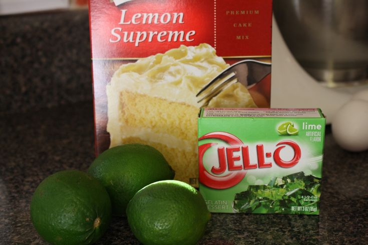 images of duncan hines bundt cake with lime jello | of the cake gets its spring green color from a box of lime jello ...