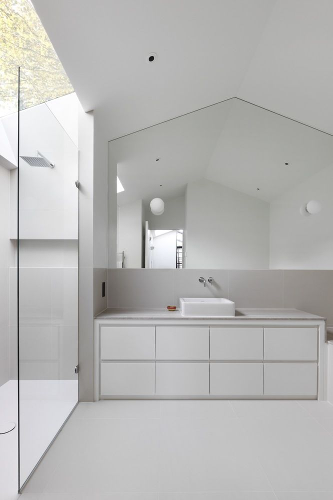 Gallery of the courtyard house de rosee sa 9 house slideoutdoor bathroomsmodern