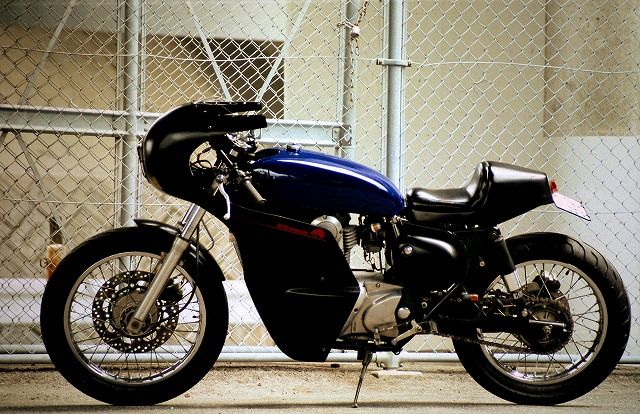 Garage Project Motorcycles - Kawasaki Estrella 250 by AN-BU custom A...