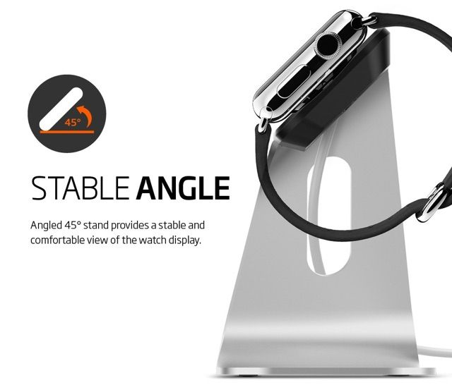 Spigen Apple Watch Stand and Protective Case | HolyCool.net