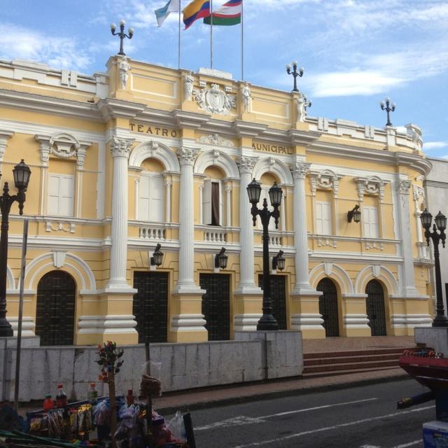 Cali, Colombia. Teatro Municipal Enrique Buenaventura