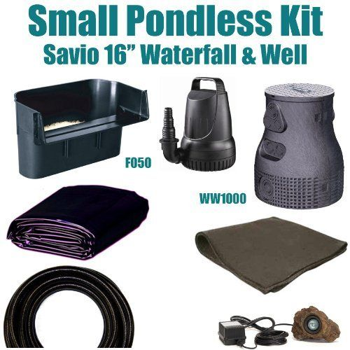 1000 images about outdoor d cor water gardens ponds on pinterest pump waterfalls and Small waterfall kit