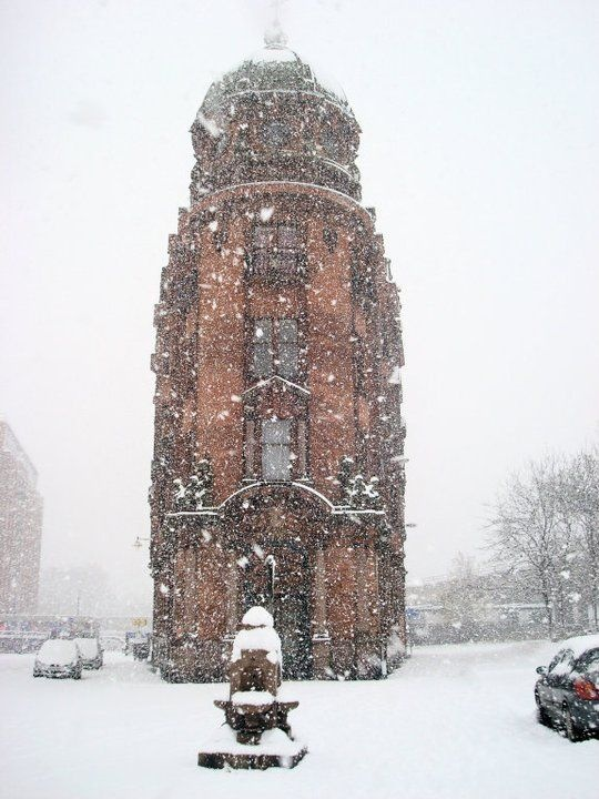 Glasgow in the snow! St Georges Cross