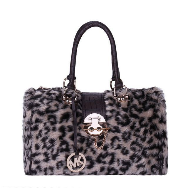 #MichaelKorsBags Want To Get The Michael Kors Fur Leopard Hair Lock Large Beige Satchels? Will You Be Good Enough To Get It!