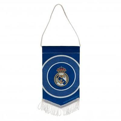 Real #madrid f.c. mini #pennant #official merchandise,  View more on the LINK: 	http://www.zeppy.io/product/gb/2/131446903466/