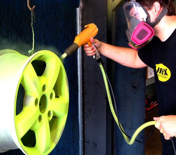 Line-X offers powder coating service