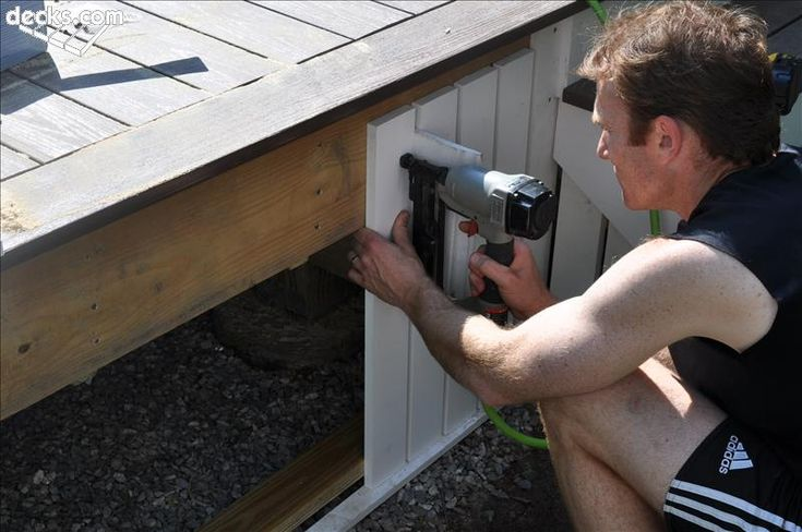 unique deck skirting ideas - Google Search