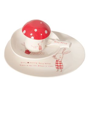 Bunny Honey Melamine set