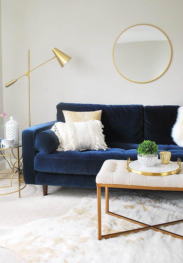 Unser neuer Loft-Bereich mit Möbeln von Article.com