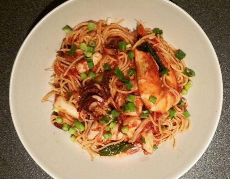 RECEPT: Spaghetti frutti di mare