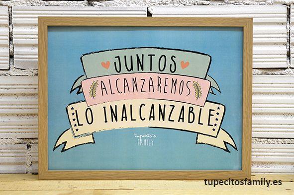 Si estamos juntos, nada es imposible <3 #love #juntos #amor #tupecitos #TupecitosFamily