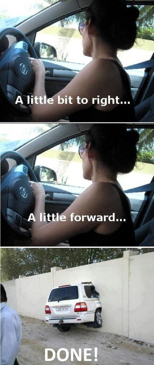 Funny Memes: Women Drivers - NoWayGirl