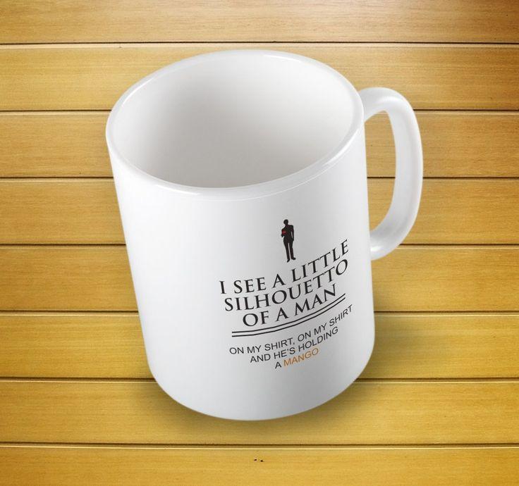 I See A Little Silhouetto Of A Man Mug #littlesilhouettomug #silhouettomug #littlemug #mugs #mug #whitemug #drinkware #drink&barware #ceramicmug #coffeemug #teamug #kitchen&dining #giftmugs #cup #home&living #funnymugs #funnycoffecup #funnygifts
