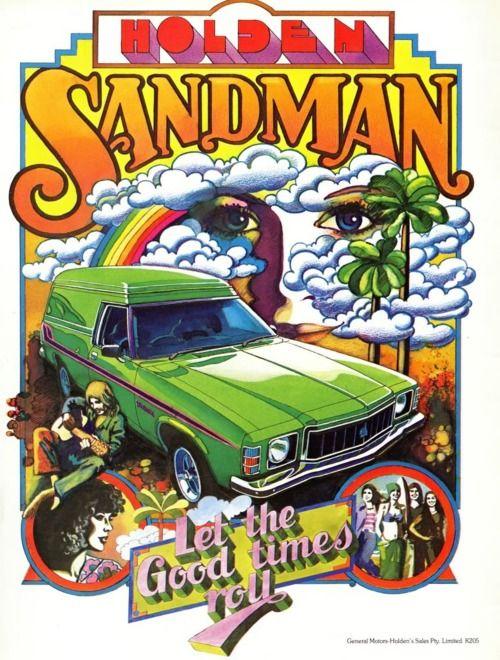 Holden Sandman, Australia, 1970s