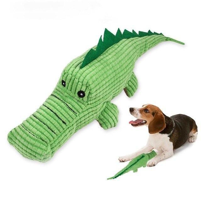 Squeaky Plush Crocodile Dog Toy Pet Toys Toy Puppies Dog Toys