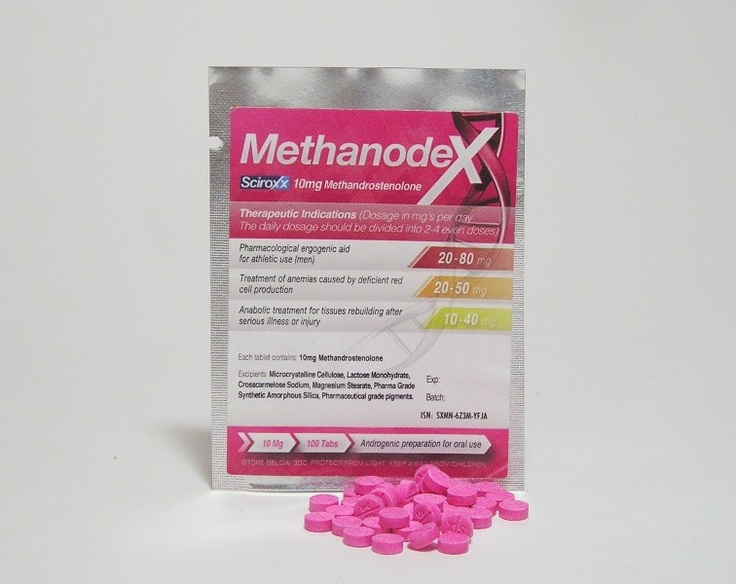 METHANODEX 100 tabs 10mg/tab(Sciroxx) Email to a Friend Be the first to review this product Availability: In stock  Regular Price: $69.00 Special Price: $62.10 Qty: ADD TO CART OR Add to Wishlist Add to Compare Quick Overview Product Name:Methanodex 10 Substance: Methandrostenolone Delivery: 100 tabs 10mg/tab Manufacturer:Sciroxx laboratories